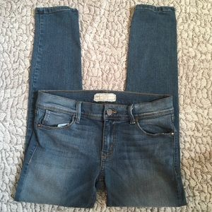 Free People Jeans | Skinny Cropped | 27x25